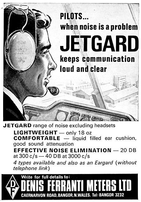Denis Ferranti Meters JETARD Headsets