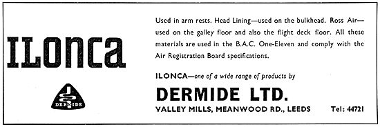 Dermide Ltd. Meanwood Rd. Leeds. ILONCA Padding