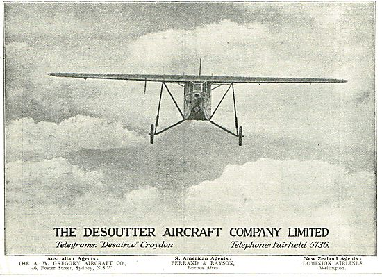 The Desoutter Aircraft Company Ltd - Croydon