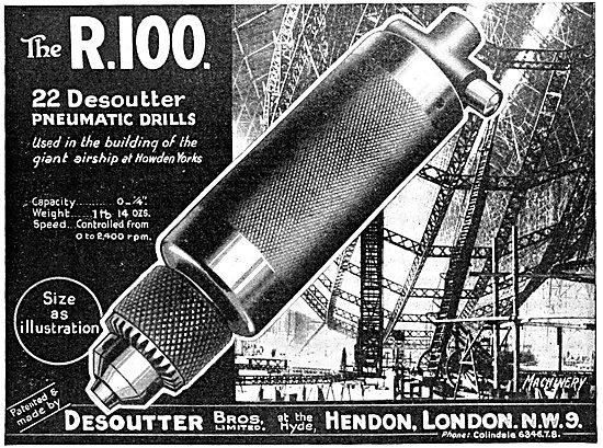 Desoutter Pneumatic Drills 1930