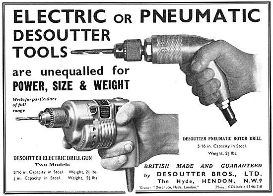 Desoutter Pneumatic & Electric Tools