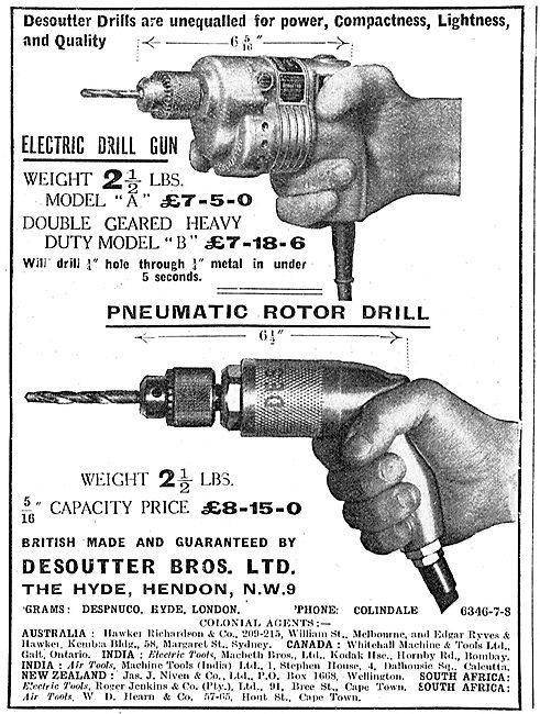 Desoutter Pneumatic & Electric Drills