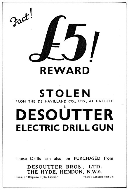 Desoutter Electric Tools 1935