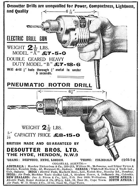 Desoutter Electric Drill Gun