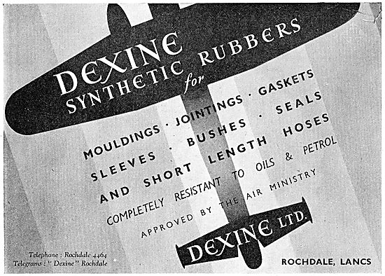 Dexine Synthetic Rubber Components