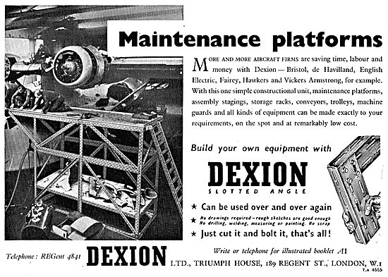 Dexion Maintenance Platforms & Storage Racking
