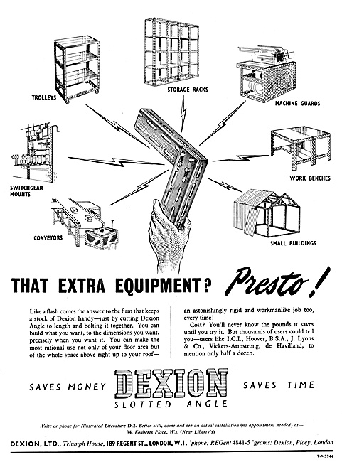 Dexion Slotted  Angle Construction System