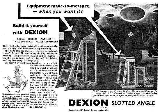 Dexion Slotted Angle Shelving, Access & Storage System
