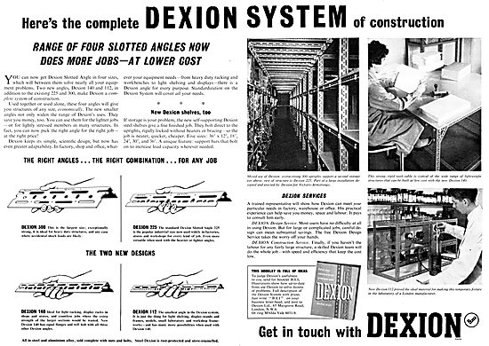 Dexion Slotted Angle Racking System