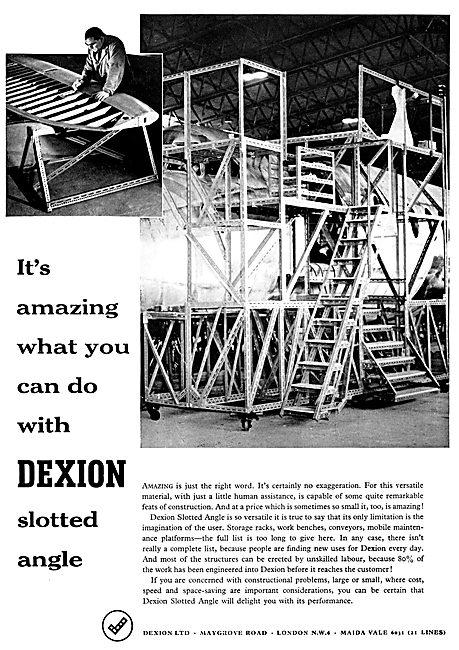 Dexion Storage Racking System & Aircraft Servicing Platforms