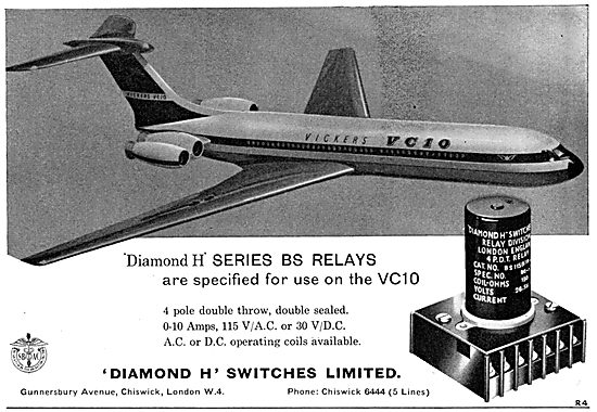 Diamond H - Aircraft Electrical Equipment. BS Relays