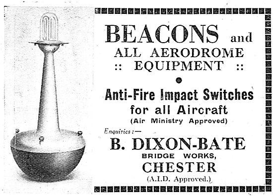 Dixon-Bate Airfield Beacons 1937