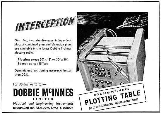 Dobbie McInnes Plotting Table
