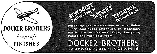 Dockers. Docker Brothers Paints & Finishes