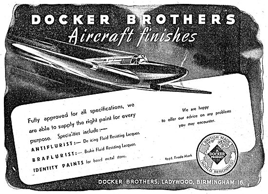 Docker Brothers Aircraft Finishes