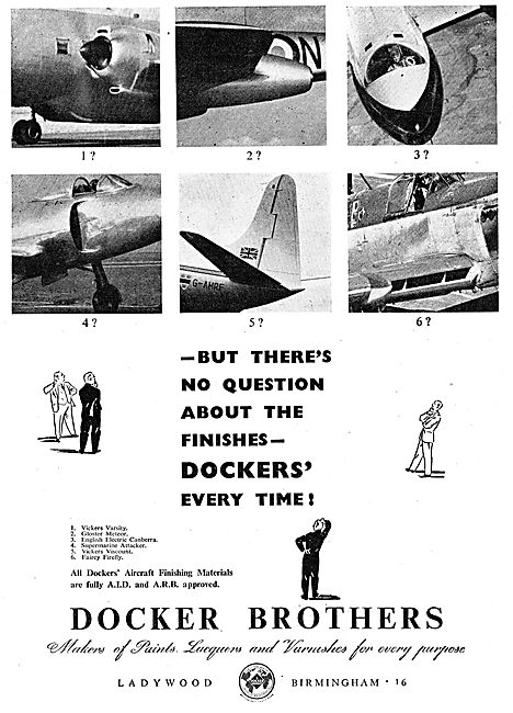 Docker Brothers Aircraft Paints & Finishes