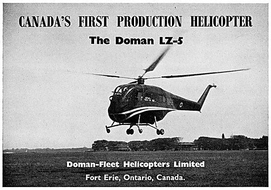 Doman-Fleet Helicopters. Doman LZ-5