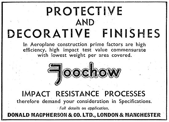 Donald Macpherson & Co : FOOCHOW Protective Finishes