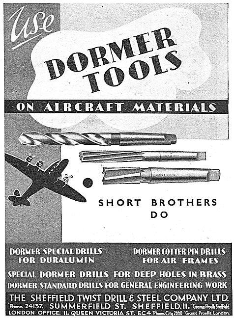 Dormer Tools 1939