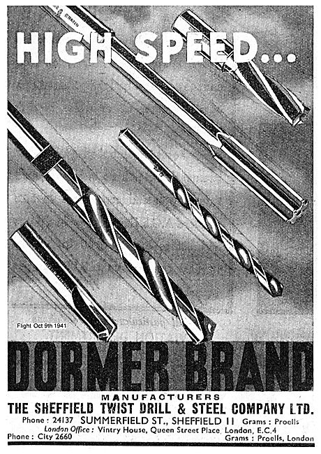 Dormer Brand High Speed Twist Drills