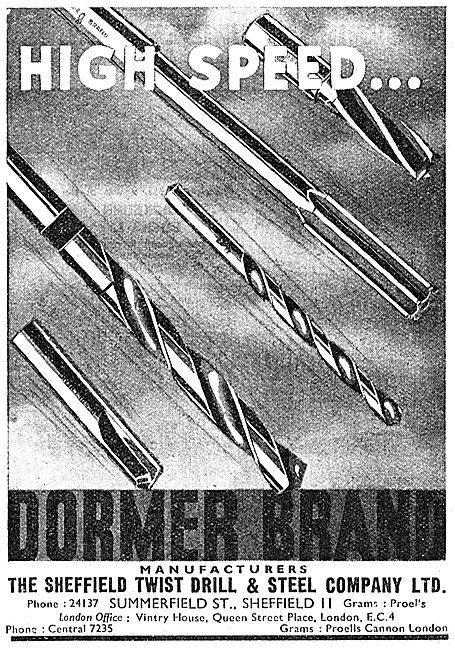 Dormer Tools Dormer Drills 1942
