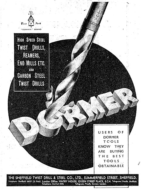 Dormer Twist Drills 1942 Advert