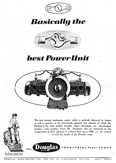Douglas Horizontally Opposed Engine