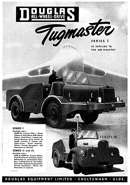 Douglas All Wheel Drive Tugmaster Series 1. Air Ministry Approved