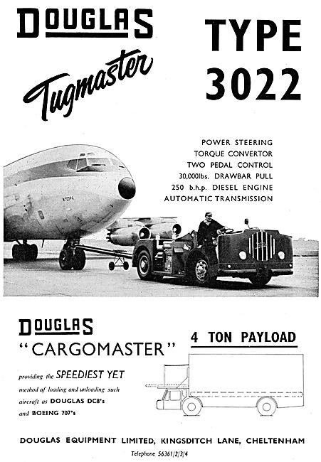 Douglas Cargomaster Airfield Tractor - Douglas Tugs