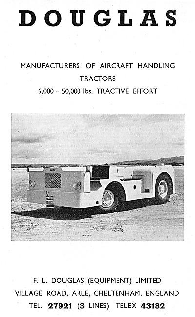 Douglas Aircraft Handling Tractors - Douglas Tugs