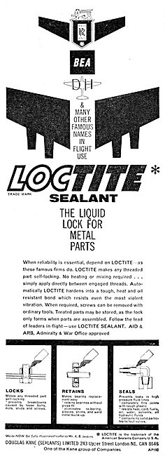 Douglas Kane Sealants: Loctite Sealant