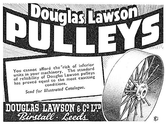 Douglas Lawson Pulleys