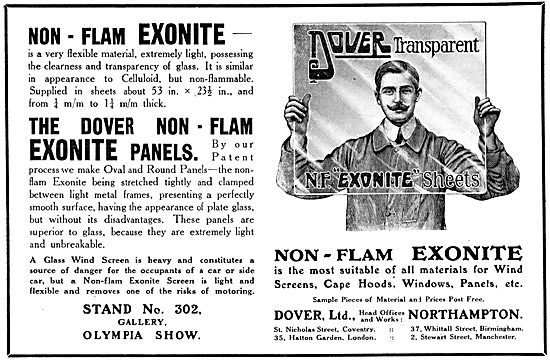 Dover Non-Flam EXONITE Transparent Panels