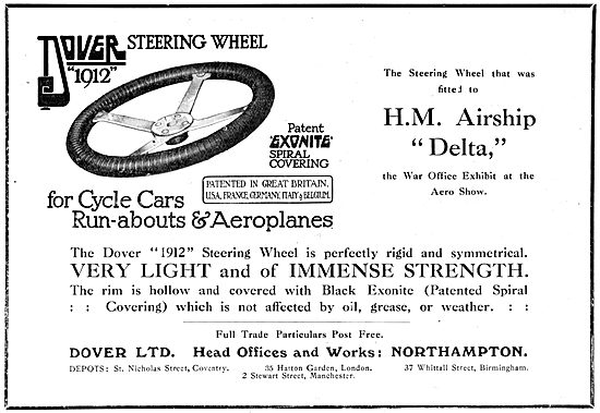Dover Aeroplane & Airship Steering Wheel - EXONITE