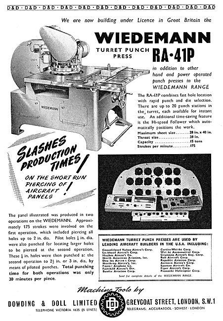 Dowding & Doll Machine Tools