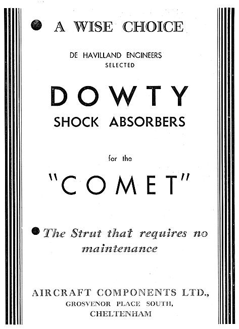 Dowty Shock Absorbers