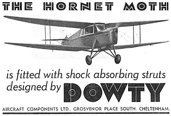 Dowty Shock Absorbing Struts