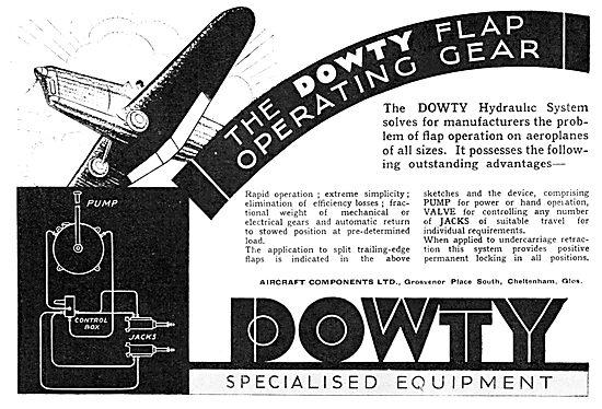 Dowty Flap Operating Gear