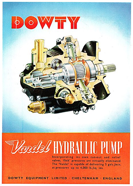 Dowty Equipment - Hydraulic Fuel & Electrical Components - Vardel