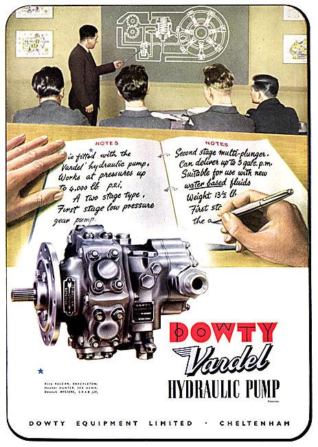 Dowty Vardel Hydraulic Pump