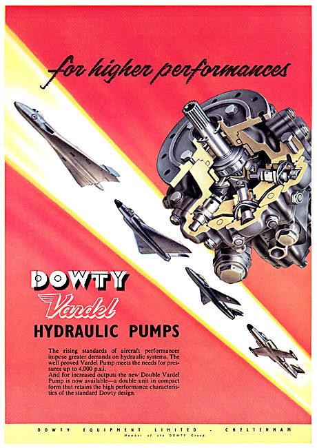 Dowty Vardel Hydraulic Pumps