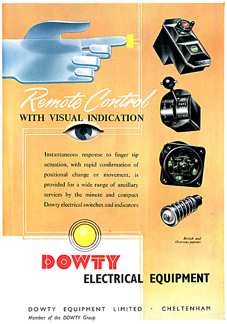 Dowty Electrical Equipment For Aircraft