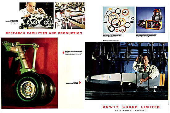 Dowty Aircraft Components & Accessories