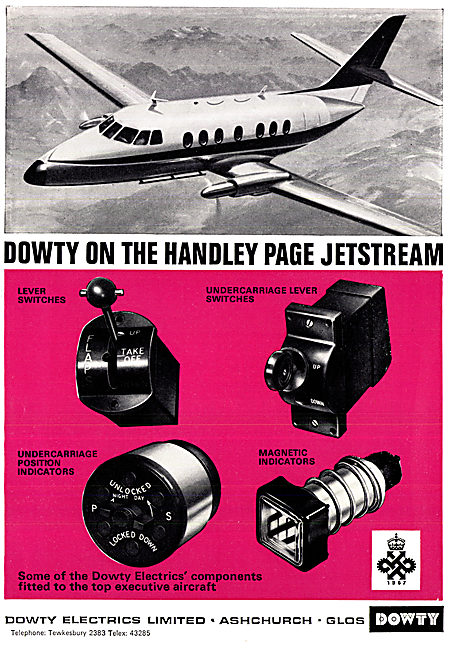 Dowty Electrical Components For Aircraft