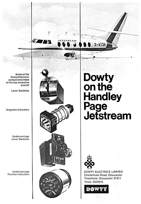 Dowty Electrical Aircraft Components