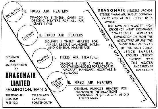 Dragonair Oil Fired Cabin Heaters