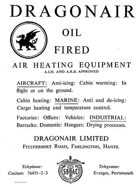 Dragonair Oil Fired Air Heating Equipment For Aircraft