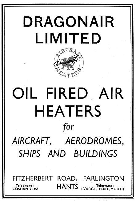 Dragonair Oil Fired Air Heaters For Buildings