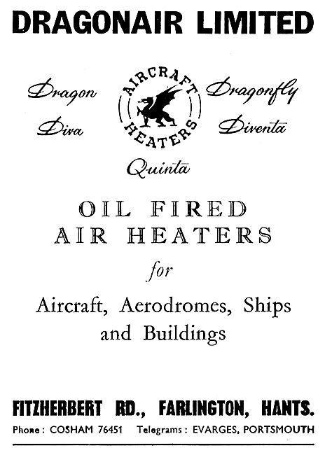 Dragonair Oil Fired Air Heaters