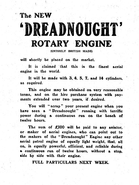The New The Dreadnought Rotary Aero Engine Will Soon Be On Sale